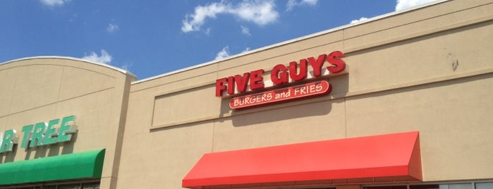 Five Guys is one of NJ.