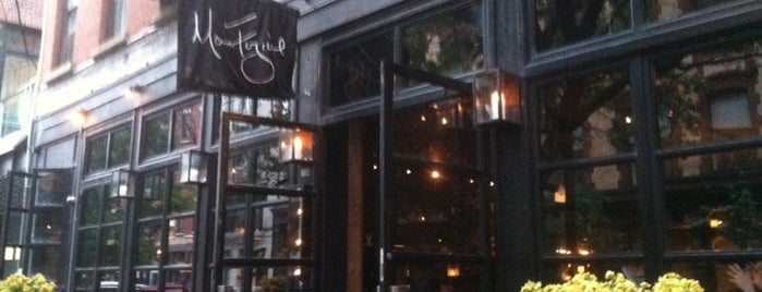 Restaurant Marc Forgione is one of The Outsiders.