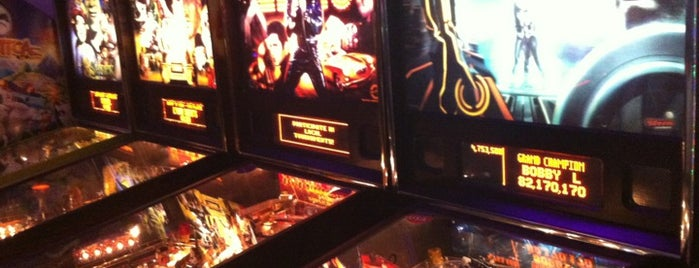 Bene Pizza is one of Pinball Destinations.