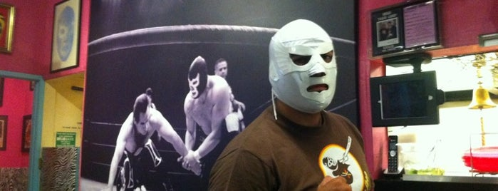 Lucha Libre is one of Favorite San Diego Restaurants.