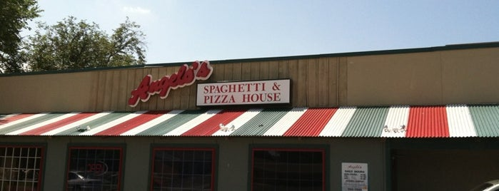 Angelo's Spaghetti and Pizza House is one of Eats.