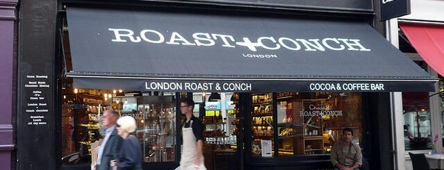 Roast & Conch is one of Specialty Coffee Shops (London).
