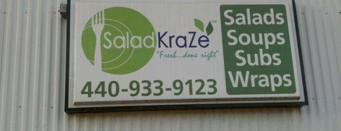 Salad KraZe is one of Lieux sauvegardés par Laura.