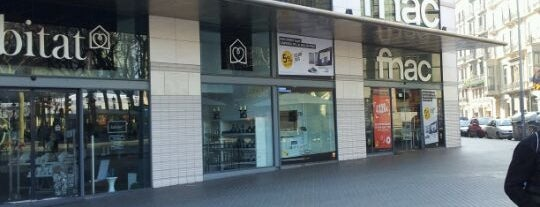 Fnac is one of Barcelona.