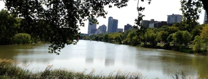 Lake Park Lagoon is one of Milwaukee.