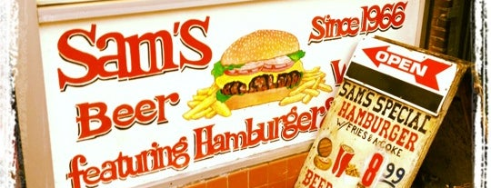 Sam's is one of San Francisco Eats.