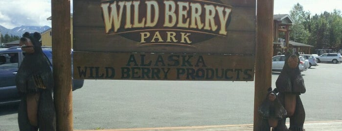 Alaska Wild Berry Products is one of Can't Stop My Knees.