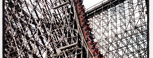 Six Flags Great Adventure is one of NJ.