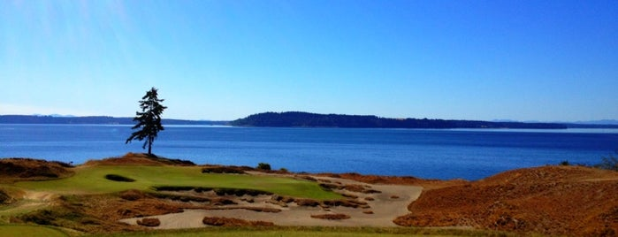 Chambers Bay Golf Course is one of The Ultimate Golf Course Bucketlist.