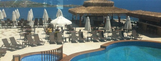 Royal Arena Resort & Spa Bodrum Hotel is one of ARGIEさんのお気に入りスポット.