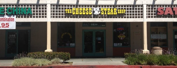 Cheese Steak Shop is one of Favorite.