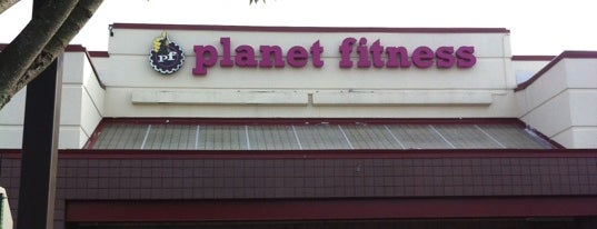 Planet Fitness is one of places.