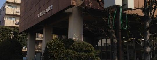 永福図書館 is one of woodcliffさんのお気に入りスポット.