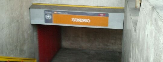 Metro Sondrio (M3) is one of Lieux qui ont plu à Sara.