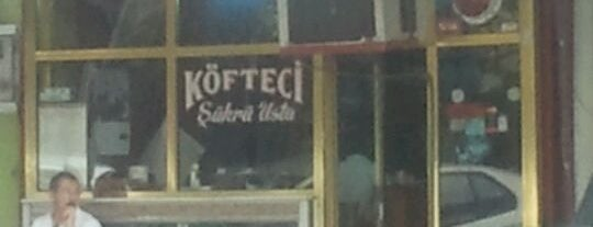 Köfteci Şükrü is one of food tr.