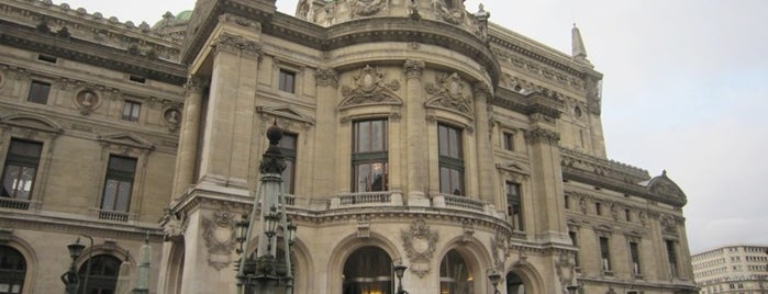 Opéra Garnier is one of  Paris Sightseeing .