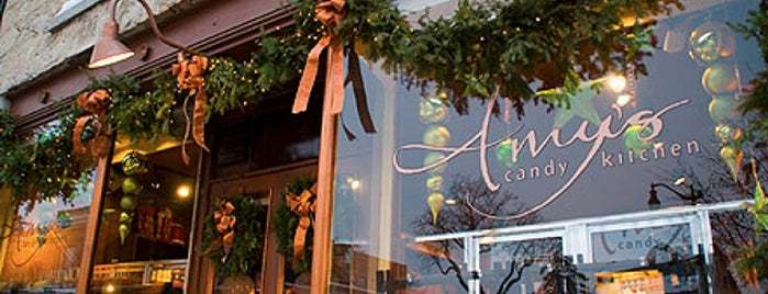 Amy's Candy Kitchen & Gourmet Caramel Apples is one of Must Visit Local Milwaukee Establishments.