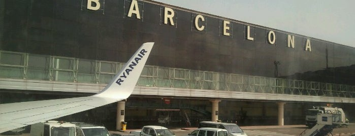 Terminal 2A is one of Barcelona.
