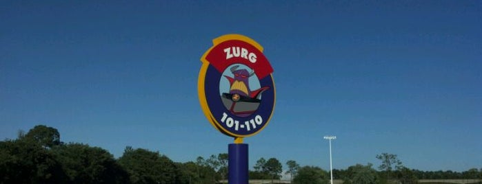 Zurg Parking Lot is one of Transportation & Misc Disney World Venues.