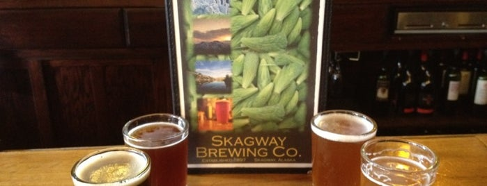 Skagway Brewing Co. is one of Tempat yang Disimpan Queen.