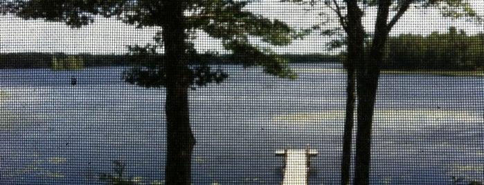 Summit Lake, Wi is one of สถานที่ที่บันทึกไว้ของ CindyLou.