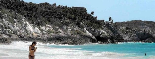 Tulum Beach is one of Sitios Internacionales.