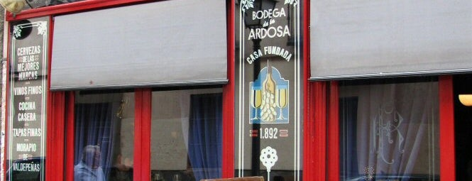 Bodega La Ardosa is one of The Best Of Madrid.