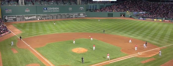 Fenway Park is one of Sporting Venues To Visit.....