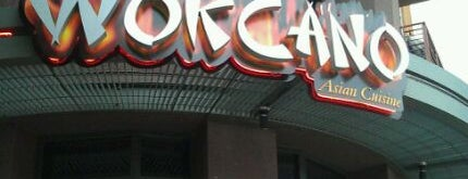 Wokcano Asian Restaurant & Lounge is one of Placestoeat.