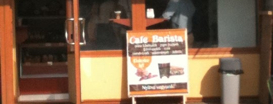 Cafe Barista is one of สถานที่ที่บันทึกไว้ของ Adam.