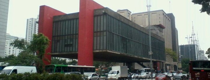 Museu de Arte de São Paulo (MASP) is one of Architectural landmarks of the city of San Paolo.