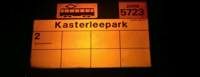 Tramhalte Kasterleepark is one of Alle tramhaltes van Amsterdam.