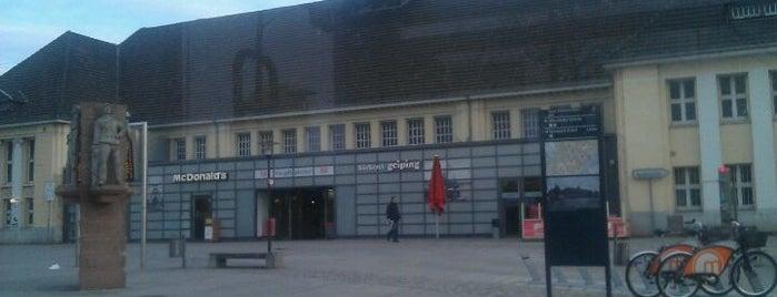 Wanne-Eickel Hauptbahnhof is one of Bahnhöfe besucht !.