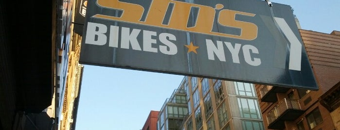 Sid's Bikes NYC is one of Activities.