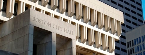 Boston City Hall is one of Downtown Boston, Chinatown & North End.