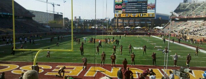 TCF Bank Stadium is one of Best Spots in Minneapolis, MN!.