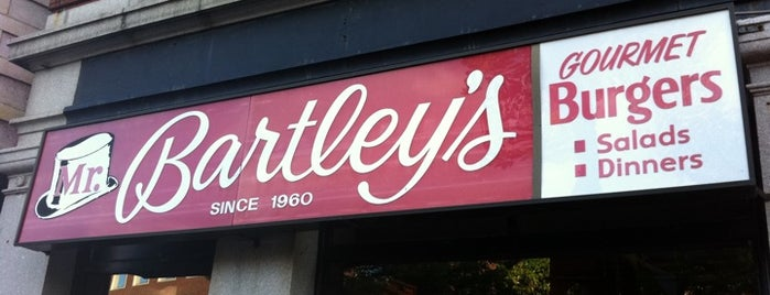 Mr. Bartley's Burger Cottage is one of Boston's best burgers.