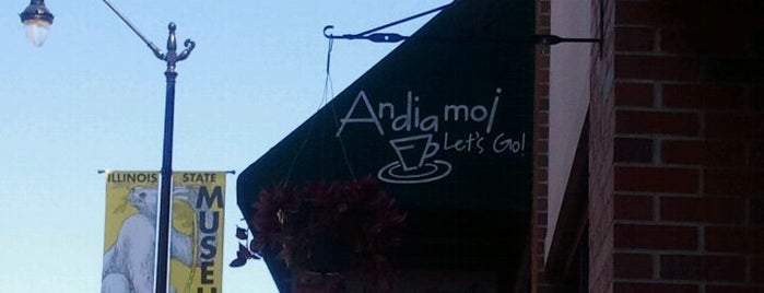 Cafe Andiamo is one of Must-visit Diners in Springfield.