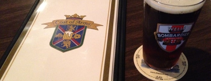 Coat of Arms Pub and Restaurant is one of #416by416 4sqDay List 1.
