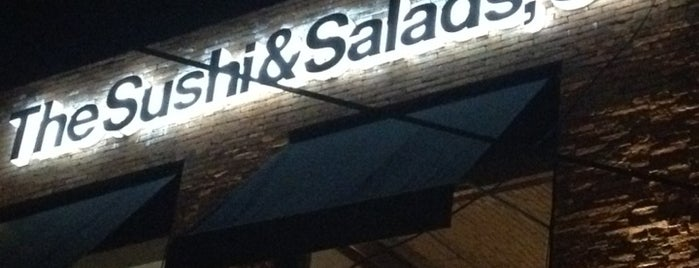 The Sushi & Salads, Co is one of Posti che sono piaciuti a Fernanda.