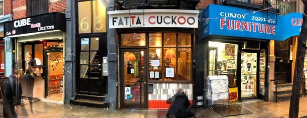 Fatta Cuckoo is one of NY places to try.