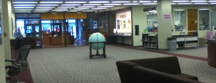 AU – Bender Library is one of Washington, DC.