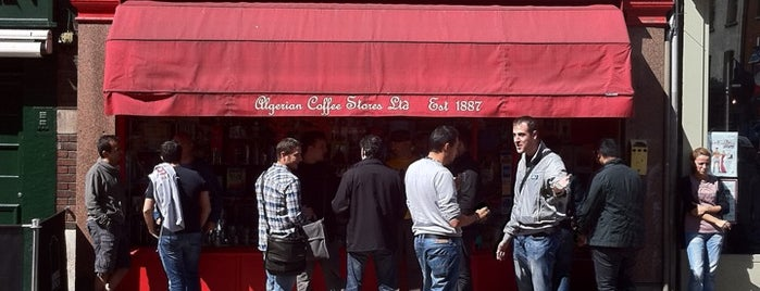 Algerian Coffee Stores is one of Great Independent Coffee Shops in London.