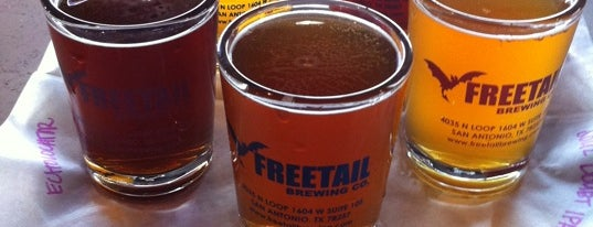 Freetail Brewing Company is one of Texas breweries.