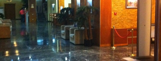 King Hotel Astana is one of Posti che sono piaciuti a Marta.