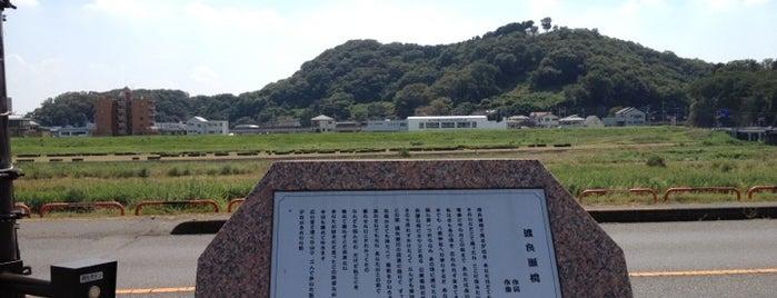 渡良瀬橋歌碑 is one of 足利.