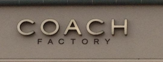 Coach Factory Outlet is one of nyc.