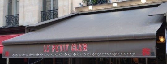 Le Petit Cler is one of Locais curtidos por Marie-Pier.