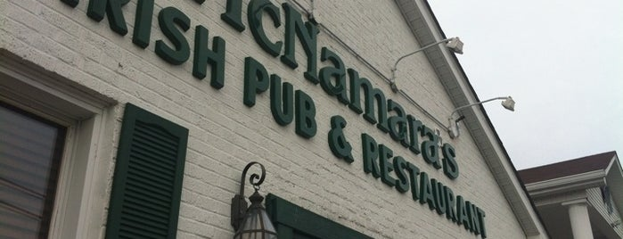 McNamara's Irish Pub is one of Lugares favoritos de Krissy.