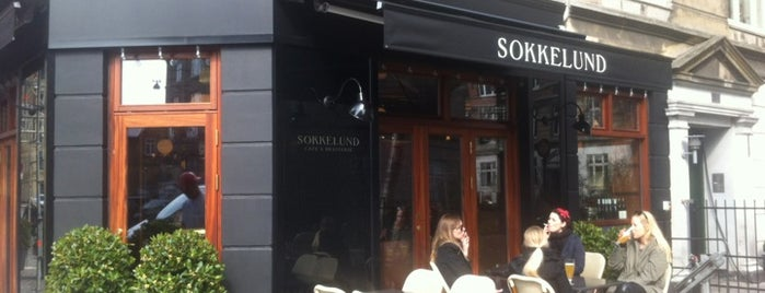 Sokkelund Cafe & Brasserie is one of Copenhagen.
